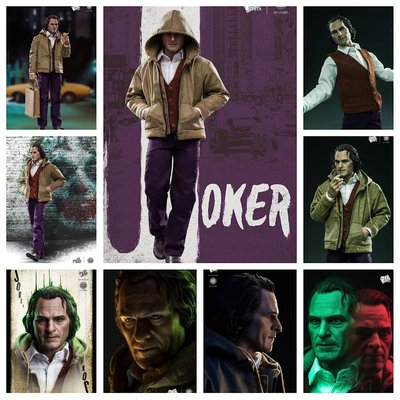 預訂:1/6 休閒入魔人套裝Joker Casual Enchanted Set (Hottoys Size)