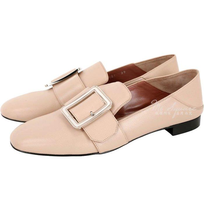 米蘭廣場 BALLY JANELLE BALLY JANELLE裸膚色穿釦設計皮革穆勤鞋(展示品) 1890042-E2