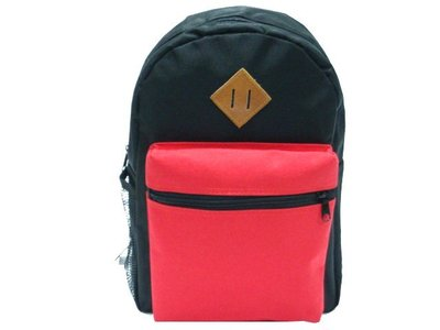 【菲歐娜】6285-(特價拍品)休閒後背包(紅)台灣製造