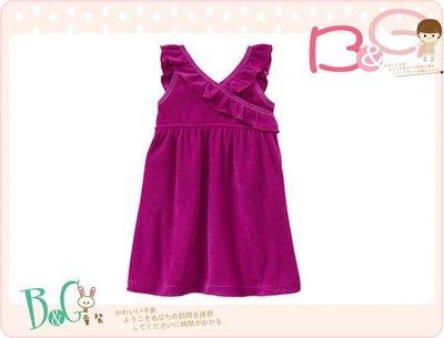 【B& G童裝】正品美國進口OLD NAVY Ruffled Terry Swim Cover-Ups 桃紅色泳裝罩裙18-24mos