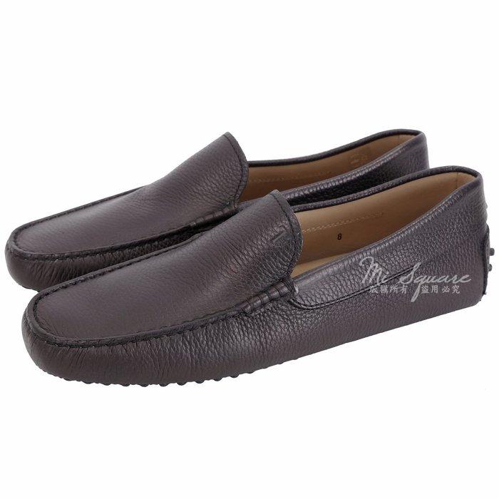 米蘭廣場 TOD'S Gommino 素面荔紋牛皮豆豆休閒鞋(男鞋/黑夜藍) 1840079-61