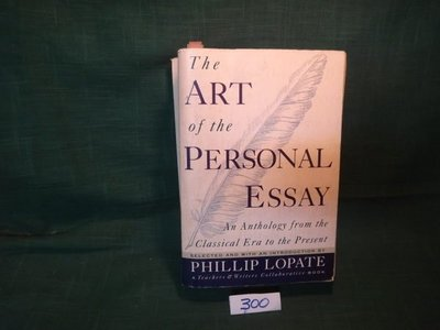 【愛悅二手書坊 08-48】The ART of the PERSONAL ESSAY