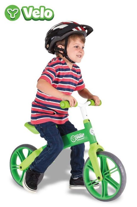 (Holiway) YVolution Velo 平衡滑步車 - 進階款 - 綠油油 (共兩色)
