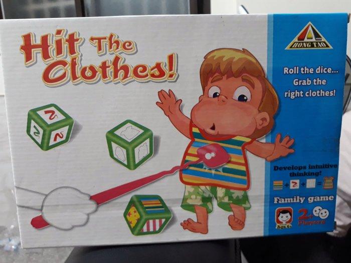 益智趣味骰子找衣服 聚會活動 團康活動