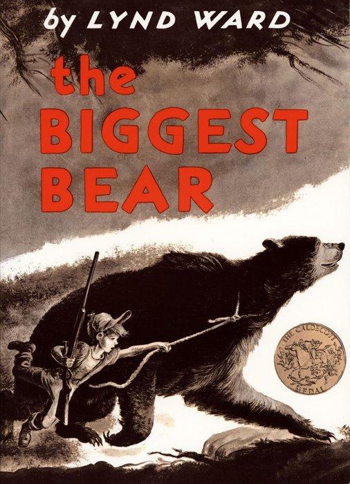 *小貝比的家*THE BIGGEST BEAR /平裝/7~12歲/汪培珽--第三階