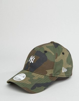 ~The Black Dan Moccani~ [新款] New Era 9 Forth 超有型 NYx迷彩 老帽