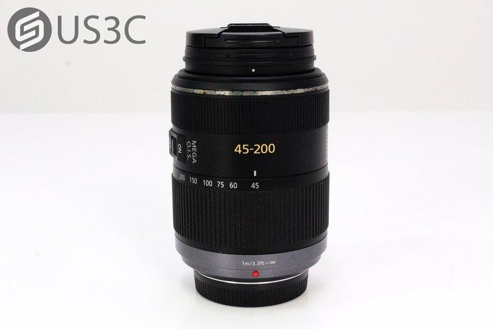 【US3C】Panasonic LUMIX G VARIO 45-200mm F4-5.6 MEGA OIS 遠攝變焦鏡頭 M43系統 附原廠遮光罩