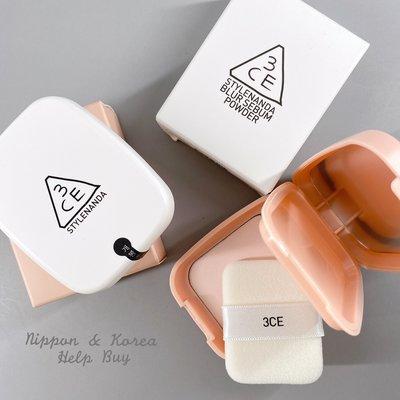 3CE 控油定妝蜜粉 Blur Sebum Powder #Pink #White 粉餅 蜜粉餅 蜜粉 ❤現貨❤