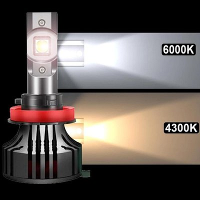 ~購~ H7 H11 HB4 4300k 暖白光 2.5A Cree XHP50 4500k 5000k 暖白/近白 頭燈 霧燈 osram philips