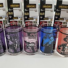 日本直送 one piece 一番賞 G賞 玻璃杯 各60蚊淨返羅賓一款。 多谷同步