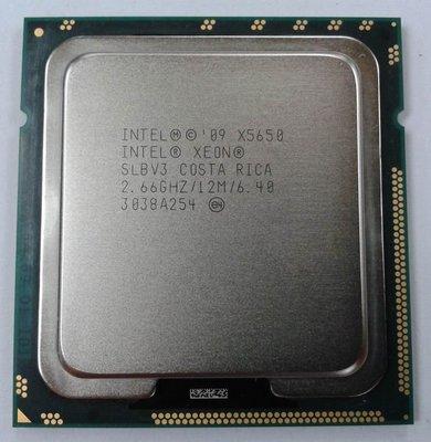 【現貨出清】 Intel Xeon X5650 正式版6C12T 2.66G 1366 X58(i7 920 930 9