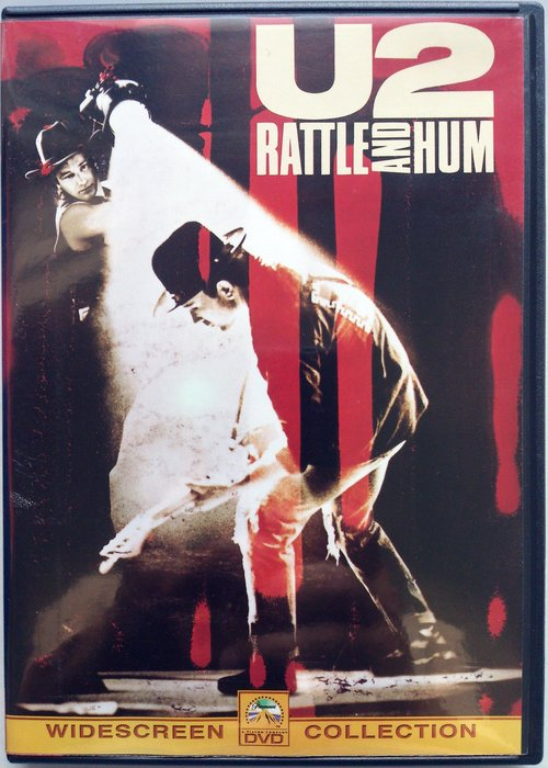 DVD/ U2 - Rattle And Hum 二手台版 巨圖科技