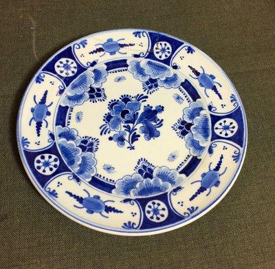 白明月藝術/古物雜貨店 西洋手繪瓷盤