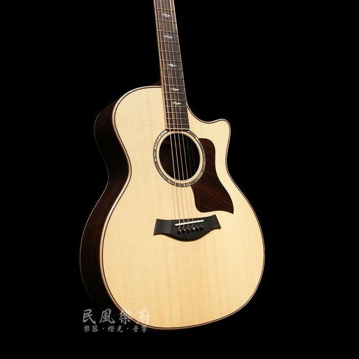《民風樂府 》美國原廠 Taylor 814ce  全單板電木吉他 全新琴公司貨  限量出清 歡迎來電詢價 錯過不再