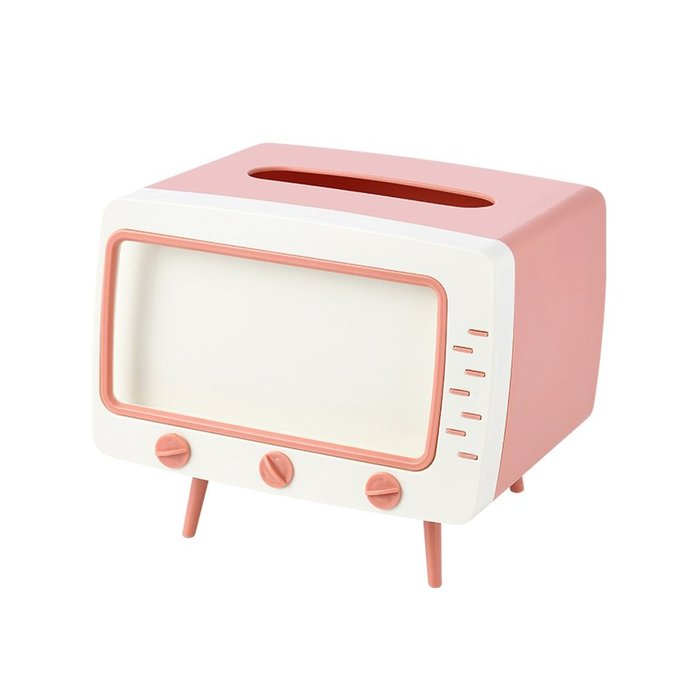 面紙盒 網紅電視機紙巾盒抽紙盒家用客廳創意北歐風ins餐巾紙抽盒茶幾盒 中大號議價哦