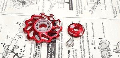 全新Week 11T CNC導輪 11T陶瓷培林軸承導輪 後變培林導輪(KCNC KREX RIDEA TOKEN參考)