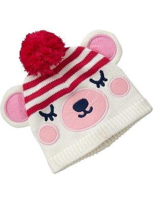 【BJ.GO】美國OLD NAVY 童裝_可愛毛球毛線帽  新品現貨