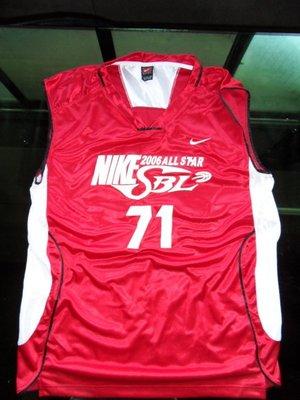 SBL超級籃球聯賽2006明星賽李啟億實戰球衣-可以交換實戰球衣