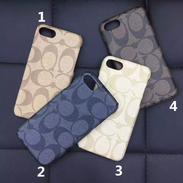iPhone 7 plus COACH 寇馳 奢華手機殼 iPhone 6 6s plus保護套 背殼 保護殼