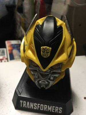 Caltex Transformers Bumblebee head display 可發光