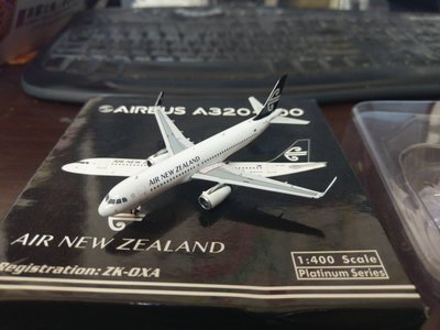 1:400 金屬飛機模型 紐西蘭航空 AIR NEW ZEALAND 空中巴士A320