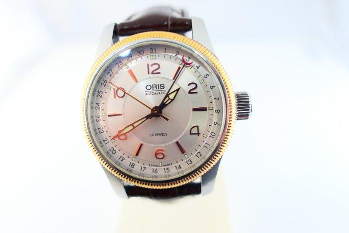 [吉宏精品交流中心]ORIS 豪利時 39mm 白面 皮帶 自動機械 男錶