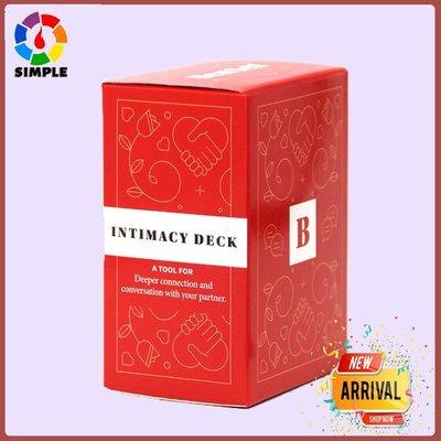 #現貨#秒出  Intimacy Deck by BestSelf-英文浪漫禮物情侶卡牌遊戲~DKP54506