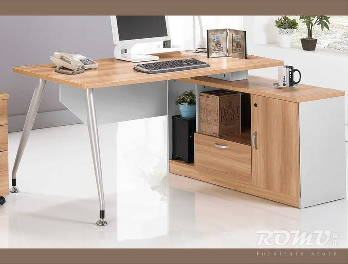 【DH】商品編號415-805-4商品名稱洛克5.6尺L型辦公桌。簡約雅緻精品。主要地區免運費