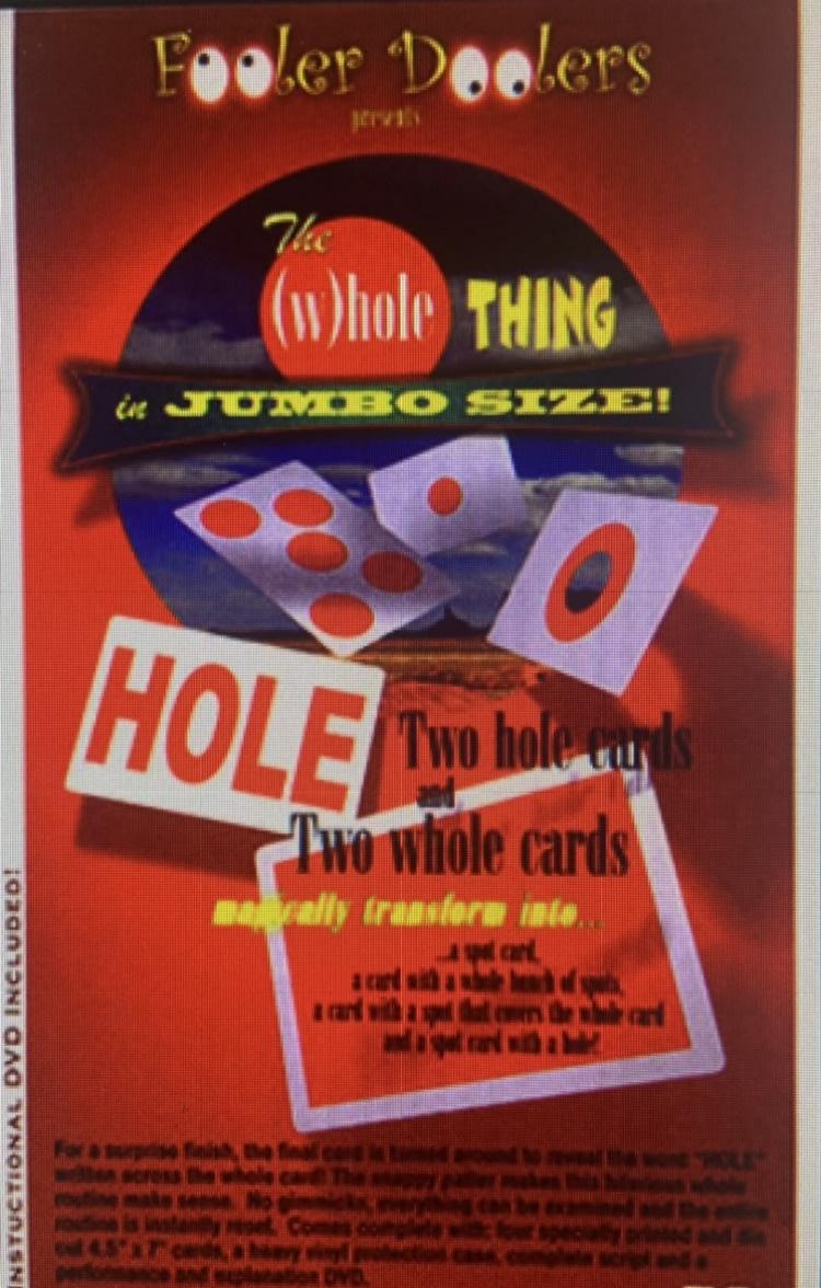 【意凡魔術小舖】The (W)hole Thing - Jumbo飛舞的洞舞台魔術