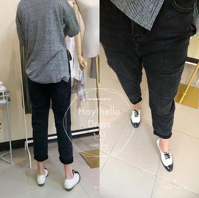 (限時.優惠-現貨)正韓貴樓UUS設計品牌直筒牛仔長褲
