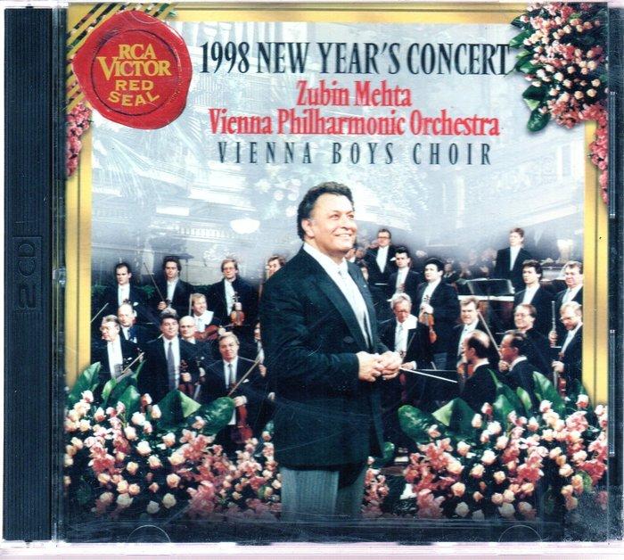 美的二手珍藏CD Zubin Mehta New Year's Concert 1998