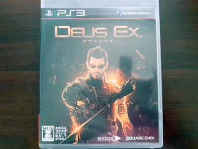 PS3 駭客入侵 人類革命 Deus Ex Human Revolution 純日版