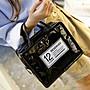 韓國簡約化妝包收納包小號多功能 便攜簡約大容量網紅防水化妝袋QCNM 全館免運