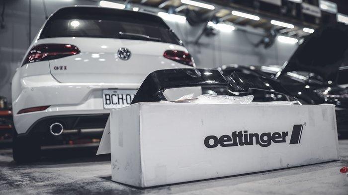 德朋國際 Oettinger Golf 7.5 GTI  專用尾翼 實裝
