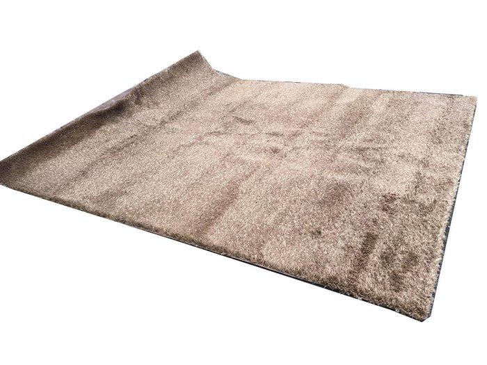 長毛地毯 (淺棕色)客廳毯 長毛毯 地墊 大型地毯 大廳毯台中可自取
