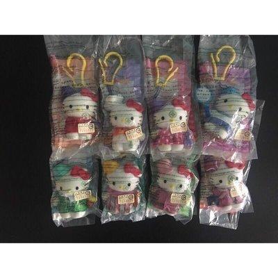Hello Kitty 吊飾8款一組