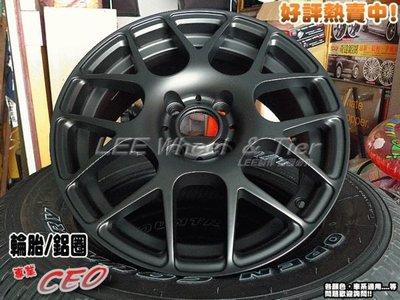 【小李輪胎】AT518 15吋4孔108 ET25 類 HRE 鋁圈有保固舊圈可回估 14~19歡迎詢問 標緻 雪鐵龍