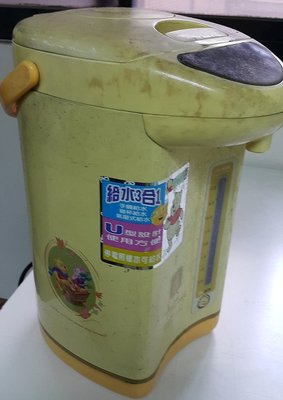 二手 亞拓 小熊維尼 熱水瓶 4L