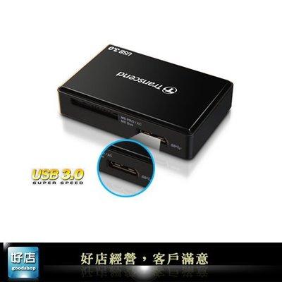 【好店】全新 創見 F8 黑色 U3 USB讀卡機 讀卡機 SD TF 讀卡機  記憶卡 USB3.0 免轉卡 $550