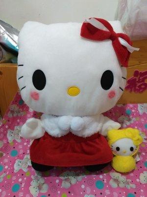 日本直送全新超靚超可愛 Hello Kitty聖誕節大毛公仔