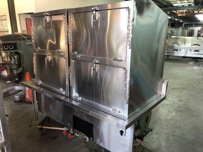 達慶餐飲設備 八里二手倉庫 二手商品  兩口港式蒸爐