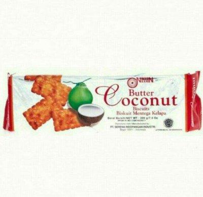 印尼 Nissin coconut  butter 奶油椰子餅乾/1包/200g