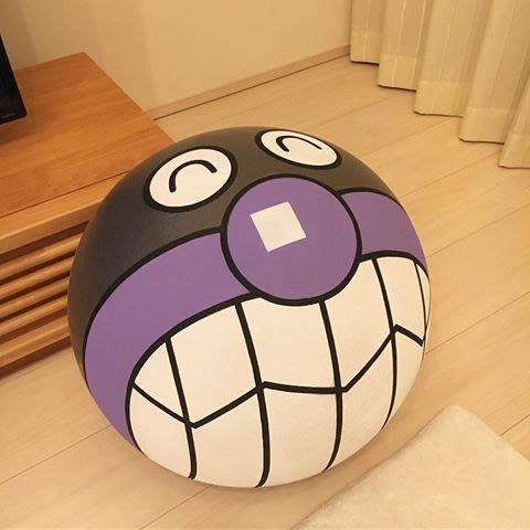 細菌人 感統球  麵包超人博物館限定 感統球 律動球 45cm 細菌人 日本空運~小太陽日本精品