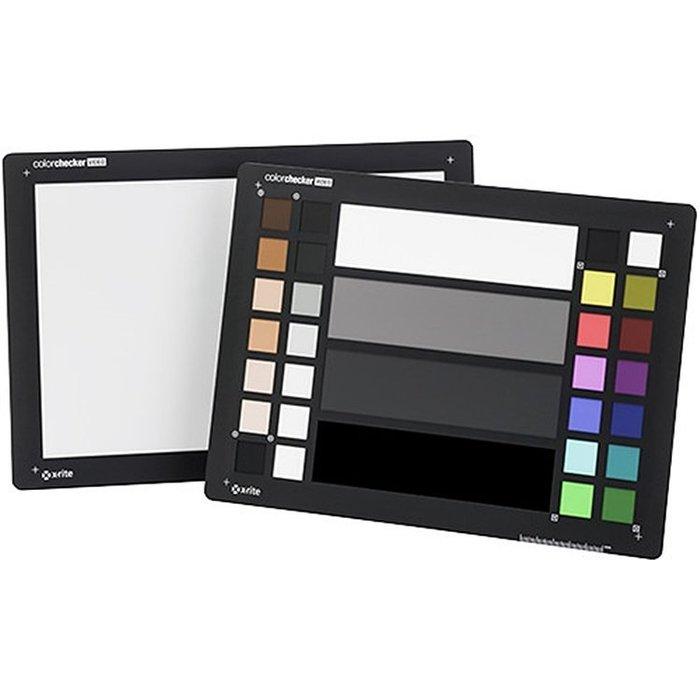 又敗家X-Rite動態攝影色卡白平衡卡ColorChecker VIDEO攝錄影校色卡商攝顏色校色板校色卡避免色偏色溫度