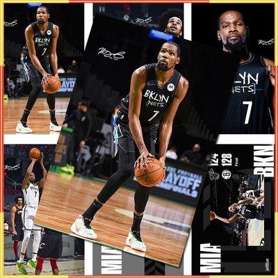 杜蘭特海報NBA湖人隊籃球明星Kobe周邊臥室超大高清簽名墻紙墻貼