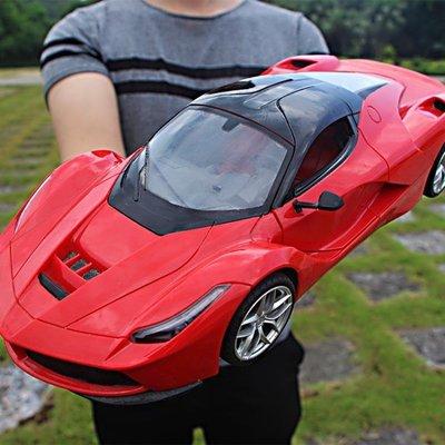 現貨/超大可充電遙控車可開門方向盤漂移男孩遙控汽車賽車模型兒童玩具174SP5RL/ 最低促銷價