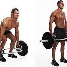 【Fitek 健身網】奧林匹克環型槓☆菱型槓☆硬舉最佳工具☆可做硬拉、聳肩、農夫走路☆