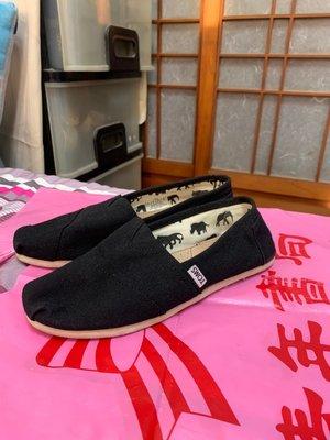 「 二手鞋 」 TOMS 女生休閒鞋 W7(黑)D 高雄市