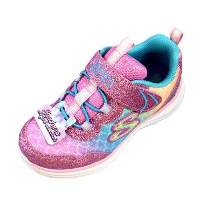 (AZ) SKECHERS 女童 運動鞋 休閒鞋 GLIMMER KICKS 81444NLPMT [迦勒]