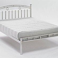 【DH】商品貨號BC087-1商品名稱《白鐵》5尺雙人鐵床架(圖一)新品特價.
